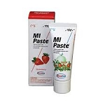 MI Paste Strawberry  without flouride w/ Recaldent