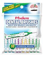 PLACKERS  DENTAL BRUSHES 10ct.